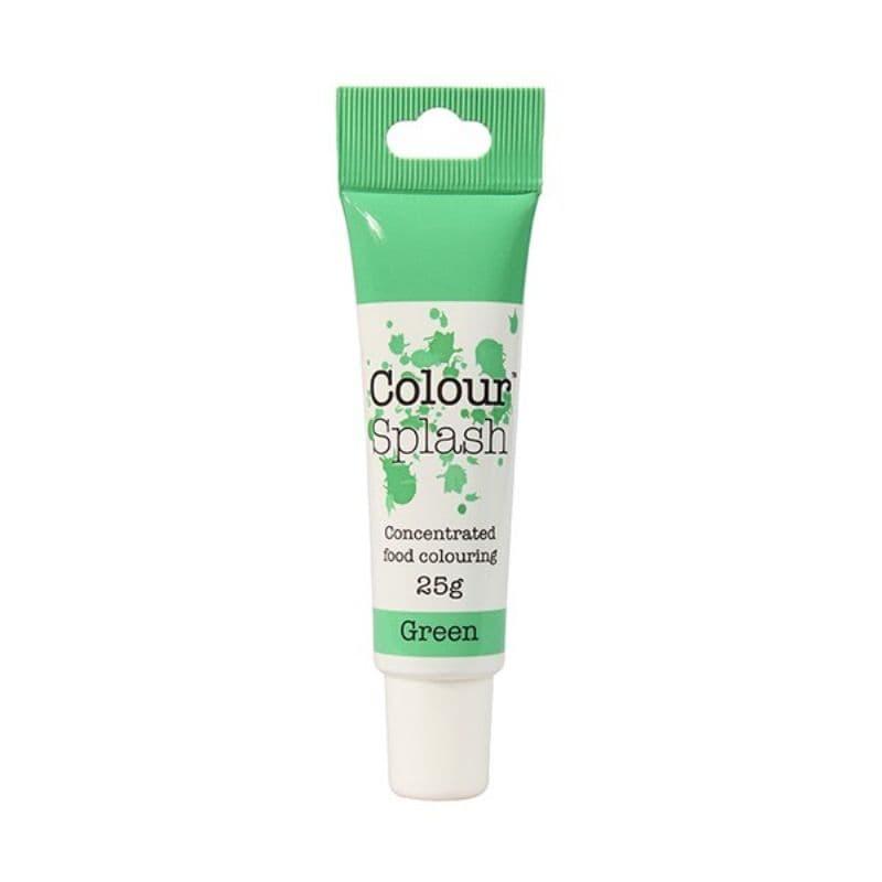 Colour Splash Gel Green