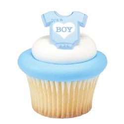 Onesie Its A Boy Ring  Pack of 24