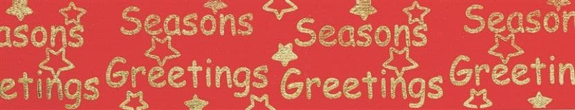 Seasons Greetings Ribbon