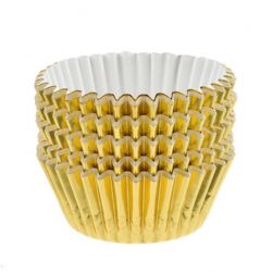 Gold Foil Cupcake Case (Sleeve of 500)