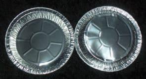 7 3/4 Foil Plate