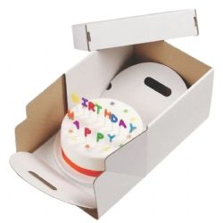 14'' (355 X 177mm) Heavy Duty Cake Transport Boxes