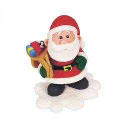 Claydough Santa & Toys