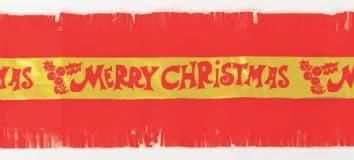 Merry Christmas Frill