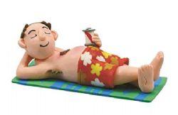 Claydough Man On Beach LA0042