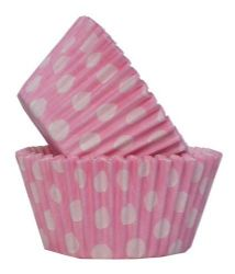 Pink Spot Cupcake Case (Box of 360)