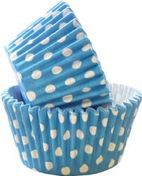 Blue Spot Cupcake Case (Box of 360)