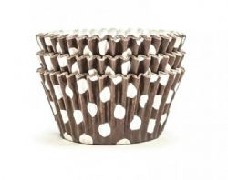 Brown Spot Cupcake Cases