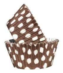 Brown Spot Cupcake Case (Box of 360)