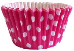 Cerise Spot Cupcake Case (Box of 360)