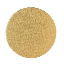 5 Round Wrapover  Strawboard Gold