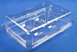 6 Cavity Cupcake / Muffin Container 240