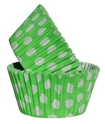 Lime Spot Cupcake Case (Box of 360)