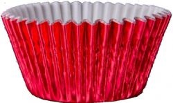 Red Foil Cupcake Case (Box of 5,000)