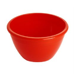 Red 1/4 Lb Pudding Bowls & Lids pack of 20