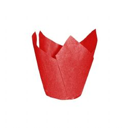 Red Tulip Muffin Wraps Box of 4800