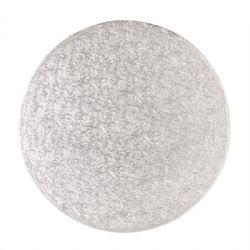 10 Round Drum Silver