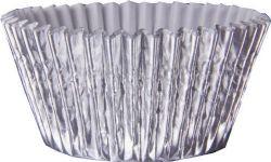 Silver Foil Cupcake Case (Box of 5,000)