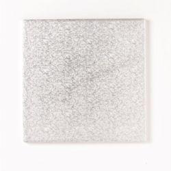 6 Square Drum Silver